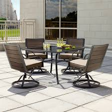 Sears Dining Room Tables Ty Pennington Quincy 5 Piece Swivel Dining Set Limited