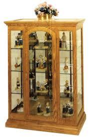 Oak Curio Cabinet Curio Cabinet Amish Curio Cabinets Unique Picture Inspirations