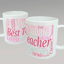 teacher mug design heart personalised copy pastels and poppies
