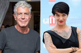 Anthony Bourdain is dating a hot Italian star   Page Six
