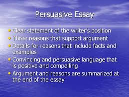 example of persuasive essay Bro tech Argumentative paper writer
