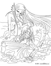 little mermaid coloring pages free online games drawing for