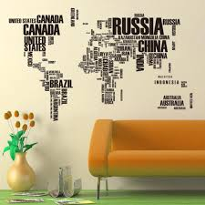 creative multicolor words world map vinyl office home decor wall office home decor wall stickers useful study wallposter for kids room decorative paper train wall stickers tree decals from qinfenglin 596 99 dhgate