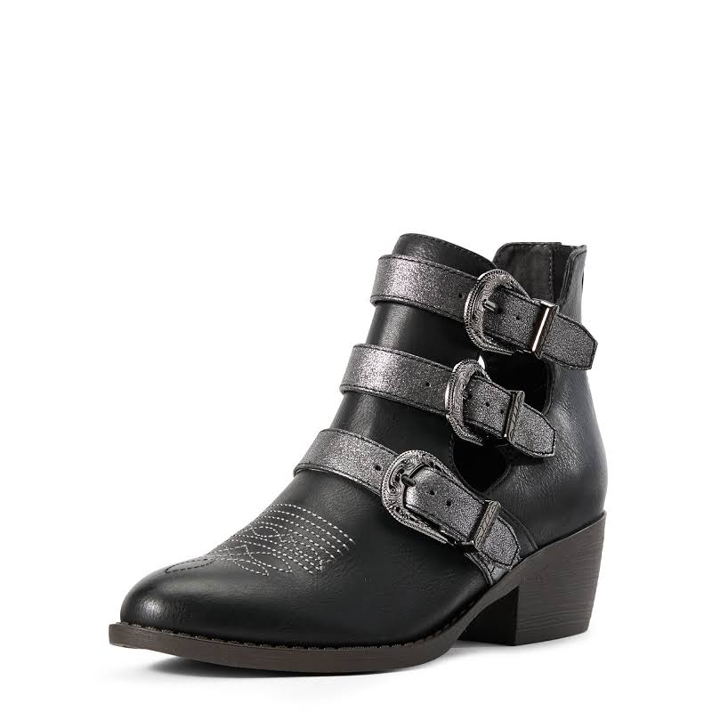 Ariat Unbridled Melody Booties Black- Womens