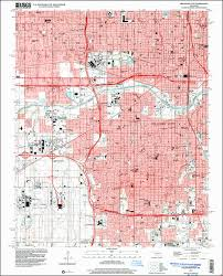 Oklahoma City Map Image Of The 1995 Oklahoma City Oklahoma 7 5 Minute Series