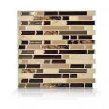 bellagio keystone peel and stick backsplash smart tiles