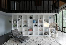 clever open shelving ideas to divide and conquer your space living