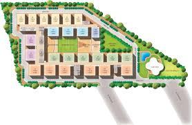 500 Sq Ft Apartment Floor Plan 500 Sq Ft 1 Bhk 1t Apartment For Sale In Modi Properties Paramount
