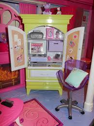 Desk Armoire Barbie My House Armoire Desk Set 2007 Earinna Flickr