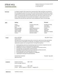 Cover Letter  Resume Example Retail  retail sales resume example     Rufoot Resumes  Esay  and Templates Cover Letter  Fashion Retail Assistant Summary With Skills In Fashion Style And Retail Service Or Cover Letter  Resume Example For Sales