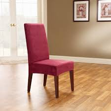 Dining Room Chair Seat Slipcovers Burgundy Dining Room Chair Covers All About Chair Design