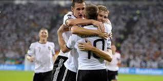 Pertandingan Grup B Denmark vs Jerman Euro 2012