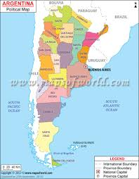 Political Map Of Latin America by Argentina Political Map Features The International Boundary The