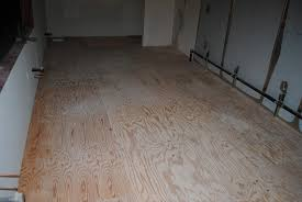 how to apply a decorative finish to plywood sub floors seattle