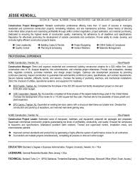 Construction Project Coordinator Resume Sample by Construction Owner S Representative Sample Resume Tech Support