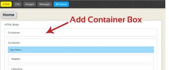 Add Container box   Full Width Header Thesis Freeze Coders