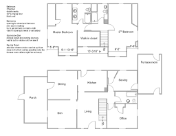 visio home plan example home plan