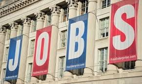 Jobs sign on U.S. Chamber of Commerce