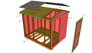 Free Saltbox Wood Shed Plans by Slm 8x10 Shed Plans To Buy