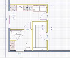 tips for planning for a bathroom layout diy with image of
