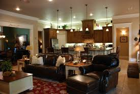 Kitchen Interiors Ideas Open Concept Kitchen Living Room Designs One Big Open