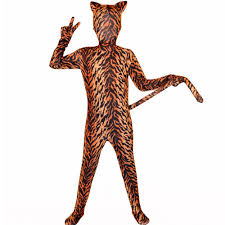 tiger halloween costumes online buy wholesale animal spandex zentai from china animal