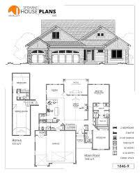 Garage Depth 1846 R Spokane House Plans