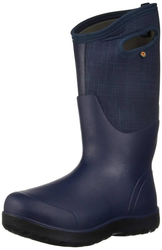 Bogs Neo Classic Tall Linen Dark Blue Multi Medium 11 72253-469-M-11