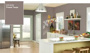 Kitchen Cabinet Paint Color Introducing The Color Of Year Poised Taupe Sw Inspirations Kitchen
