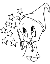 coloring pages draw tweety bird coloring page