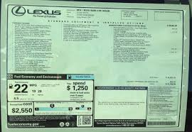 lexus f sport price first look at the 2014 is350 f sport u0026 is250 msrp window stickers