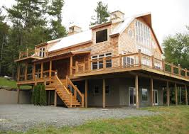 A Frame Style House Plans Barn Homes And House Plans Davis Frame Post Beam Mou Hahnow