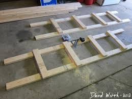 Build Wood Garage Shelves how to build a shelf for the garage