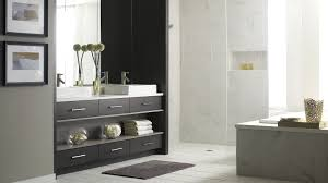 Modern Walnut Bathroom Vanity by Bathroom Renovation Bathroom Vanities Bathroom Design Ideas