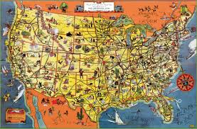Large Map Of Usa by Usa Tourist Map