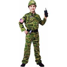 spirit halloween corporate generic army infantry child halloween costume walmart com