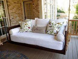 wood porch swing and decor med art home design posters