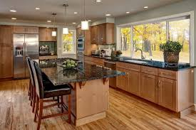 shaker maple cabinets for all season kitchen