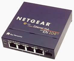 Design A Home Network Connected By An Ethernet Hub Amazon Com Netgear En104tp 4 Port 10 Mbps Ethernet Hub Rj 45 With