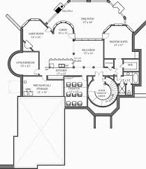 Bhg Floor Plans by Hennessey House 7805 4 Bedrooms And 4 Baths The House Designers