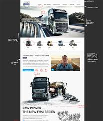 volvo truck design dribbble volvo trucks website design concept v2 png by peter