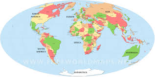 World Map Asia by Countries Of The World Map U2013 Freeworldmaps Net