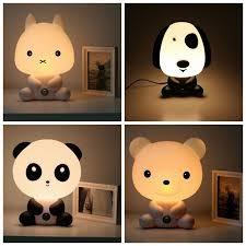 NEW Baby Room PandaRabbitDogBear Cartoon Night Sleeping Light - Kids room lamp