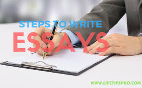 How To Write An Admission Essay   Steps