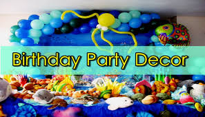 Home Parties Home Decor by 25 Best Diy Birthday Party Decorations For Kids At Home Youtube