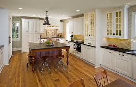 Off White Kitchen Cabinets With Black Countertops White Kitchen With Black Granite Countertops Inviting Home Design