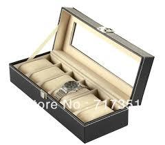 Удобная коробка для хранения часов