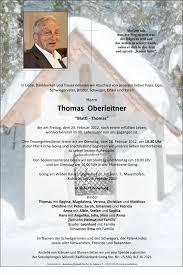 Verstorbene(r) Herr Thomas Oberleitner Trauerhilfe Bestattungs GesmbH - 1330108459_Oberleitner