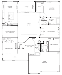4 bedroom open floor plan also plans for house gallery picture