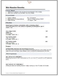 sample resume for mba freshers resume format for freshers resume